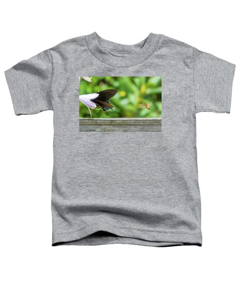 Butterfly And Bee Toddler T-Shirt