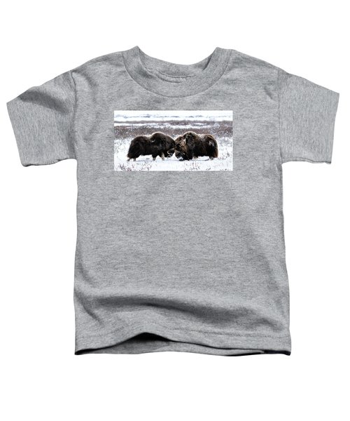 Butting Heads Toddler T-Shirt