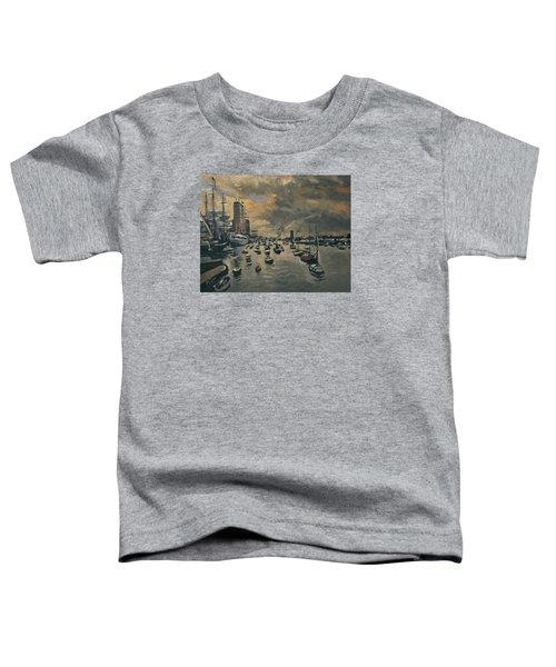 Bye Bye Sail Amsterdam Toddler T-Shirt by Nop Briex