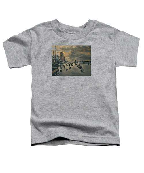 Bye Bye Sail Amsterdam Toddler T-Shirt