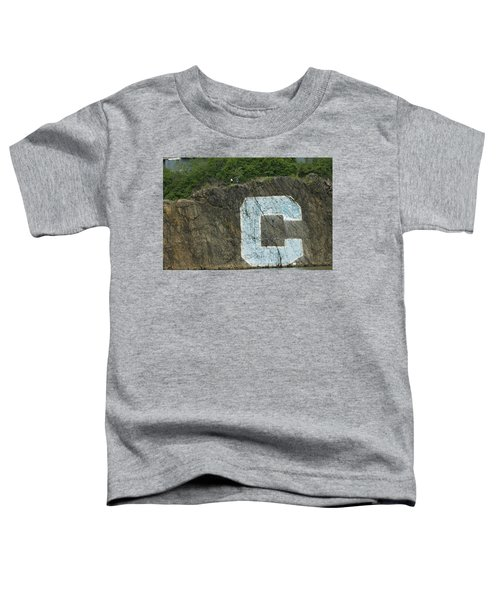 C Rock Of Columbia University Toddler T-Shirt
