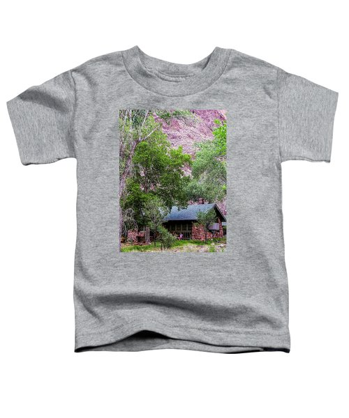 Cabin At Phantom Ranch Toddler T-Shirt