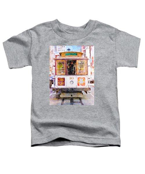 Cable Car No. 10 Toddler T-Shirt