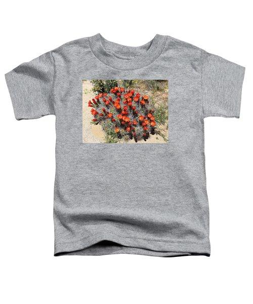 Cactus Bloom In Jtnp Toddler T-Shirt