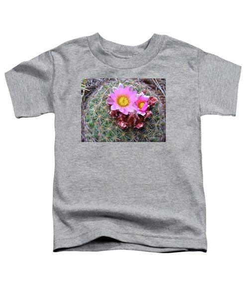 Cactus Flower  Toddler T-Shirt