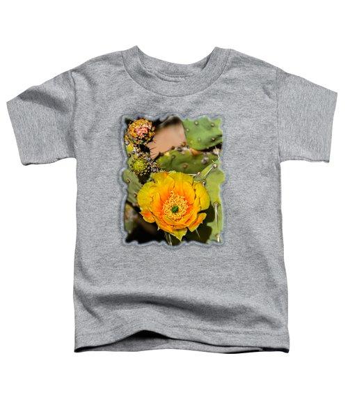 Cactus Flower V46 Toddler T-Shirt