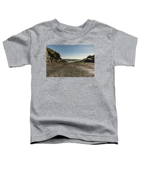 Cadgwith Cove Beach Toddler T-Shirt