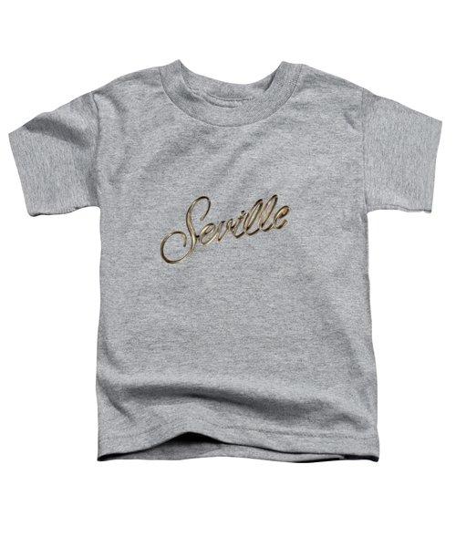 Cadillac Seville Emblem Toddler T-Shirt