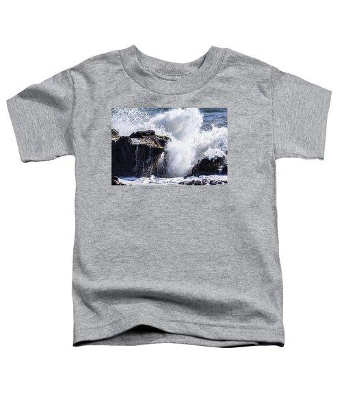 California Coast Wave Crash 6 Toddler T-Shirt