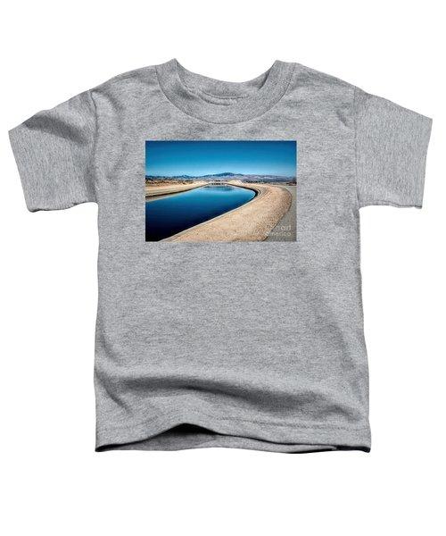 California Aqueduct At Fairmont Toddler T-Shirt