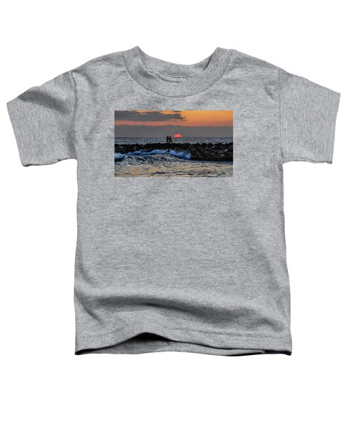 California Evening With Sandstone Effect Toddler T-Shirt