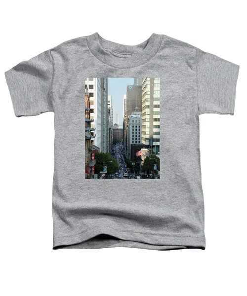 California Street San Francisco Toddler T-Shirt