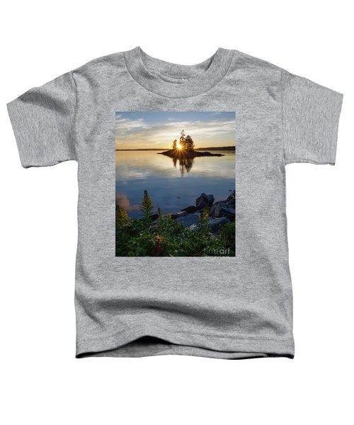 Calm Water At Sunset, Harpswell, Maine -99056-99058 Toddler T-Shirt