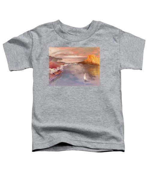 Calpe At Sunset Toddler T-Shirt