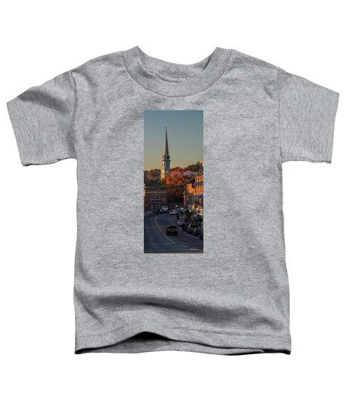 Camden Steeple Toddler T-Shirt
