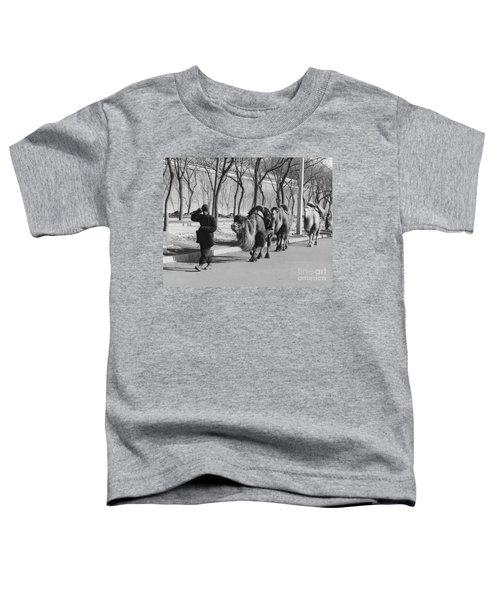 Camel Caravan, China 1957 Toddler T-Shirt