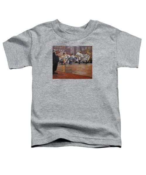 Can Can In The Moulin Rouge Paris Toddler T-Shirt by Nop Briex