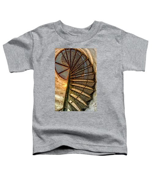 Cana Island Lighthouse Staircase Toddler T-Shirt