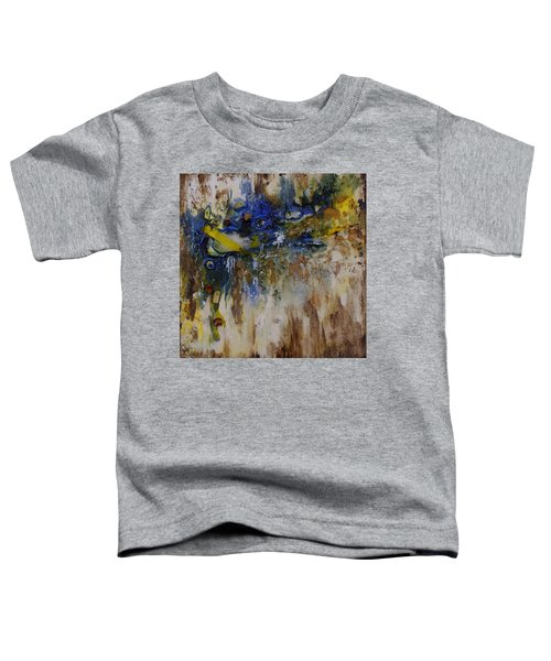 Toddler T-Shirt featuring the painting Canadian Shoreline by Joanne Smoley