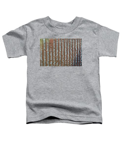 Canal Reflections 4 Toddler T-Shirt