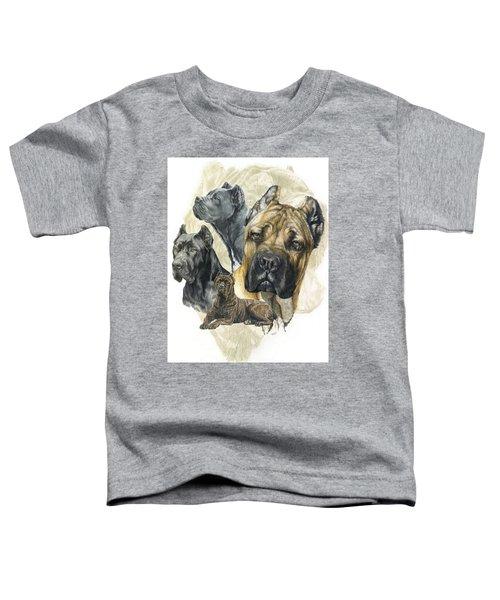 Cane Corso Medley Toddler T-Shirt