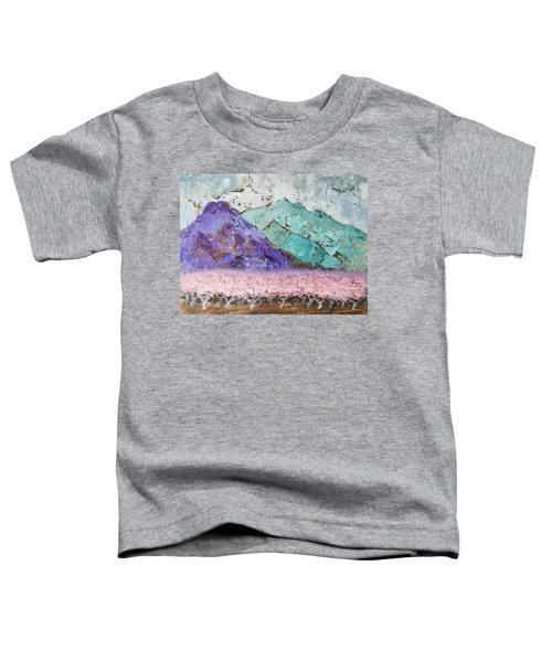 Canigou With Blooming Peach Trees Toddler T-Shirt