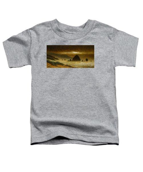 Cannon Beach Evening Toddler T-Shirt