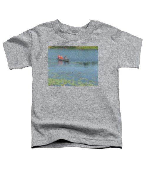 Canoes On Shovelshop Pond Toddler T-Shirt