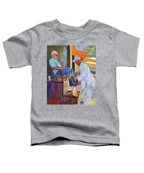 Captain Shoe Shine Toddler T-Shirt
