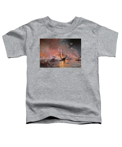 Capture Of New Orleans By Union Flag Officer David G Farragut Toddler T-Shirt
