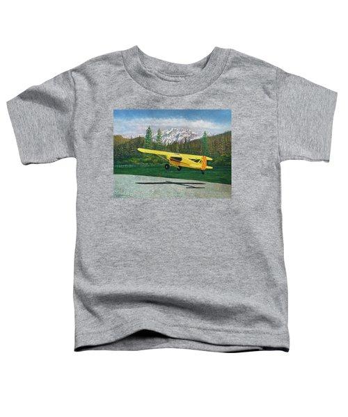 Carbon Cub Riverbank Takeoff Toddler T-Shirt
