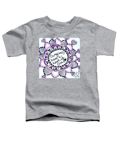 Caregiver Sun Toddler T-Shirt