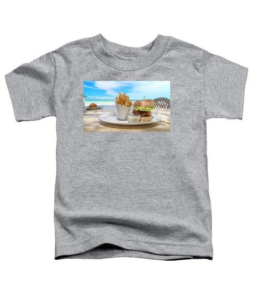 Caribbean Conch Burger Toddler T-Shirt