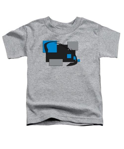 Carolina Panthers Abstract Shirt Toddler T-Shirt
