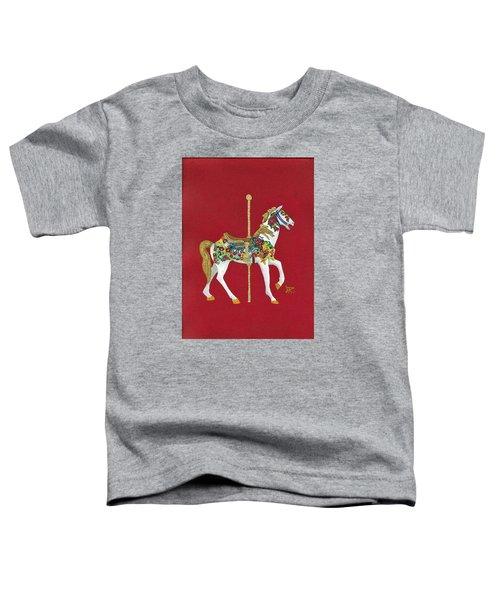 Carousel Horse #2 Toddler T-Shirt