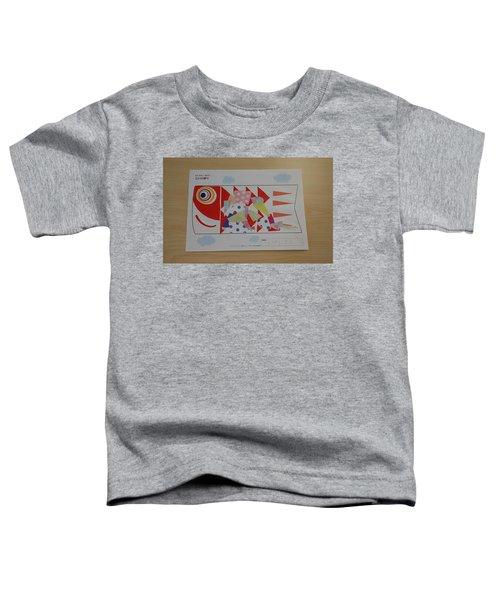 Carp Streamer Toddler T-Shirt