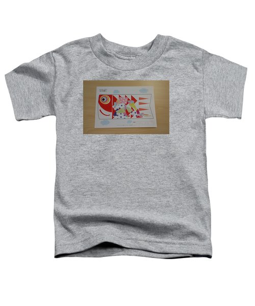 Carp Streamer Toddler T-Shirt