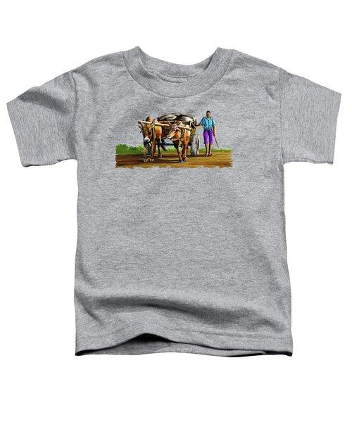 Cart Man Toddler T-Shirt