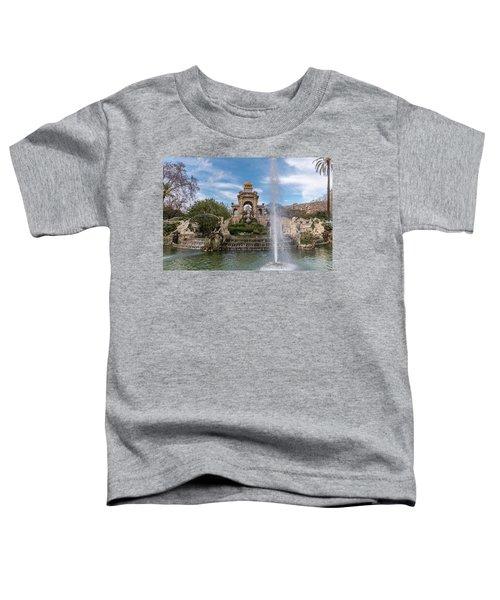 Cascada Monumental Toddler T-Shirt by Randy Scherkenbach