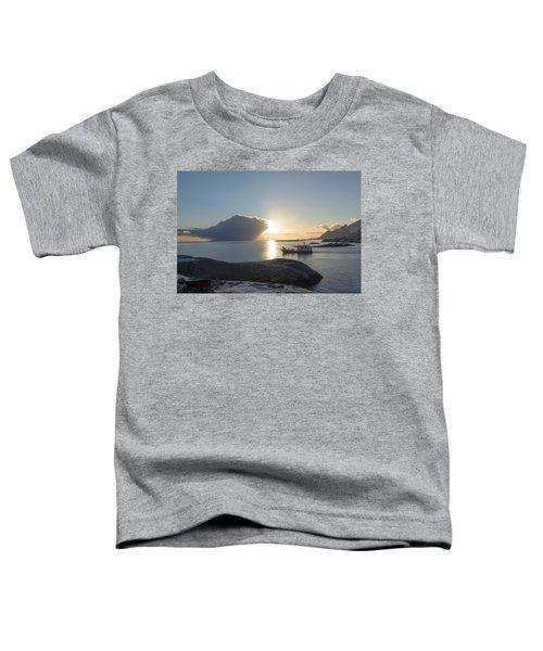 Cast A Giant Shadow... Reine Lofoten Toddler T-Shirt by Dubi Roman