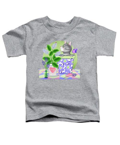 Cat Love Toddler T-Shirt