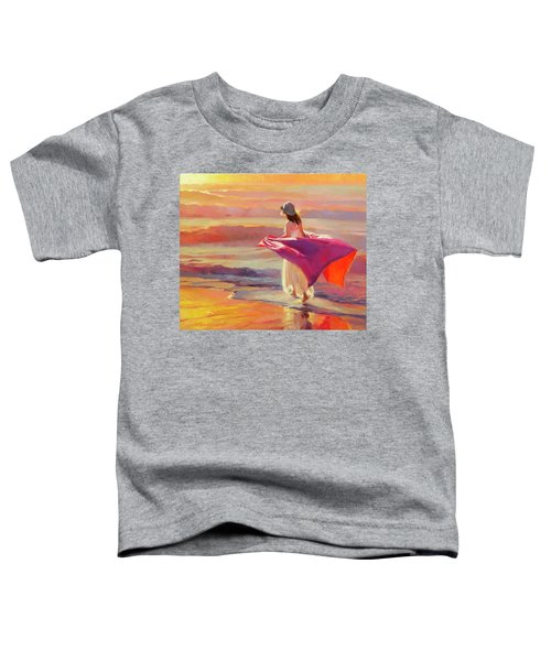 Catching The Breeze Toddler T-Shirt