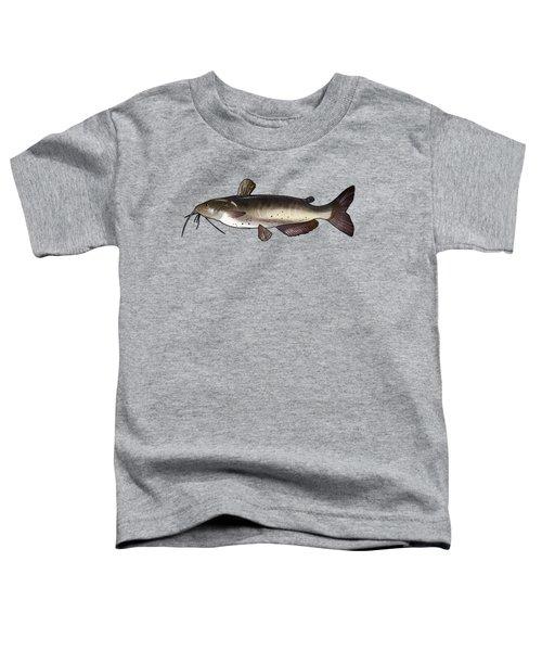 Catfish Drawing Toddler T-Shirt