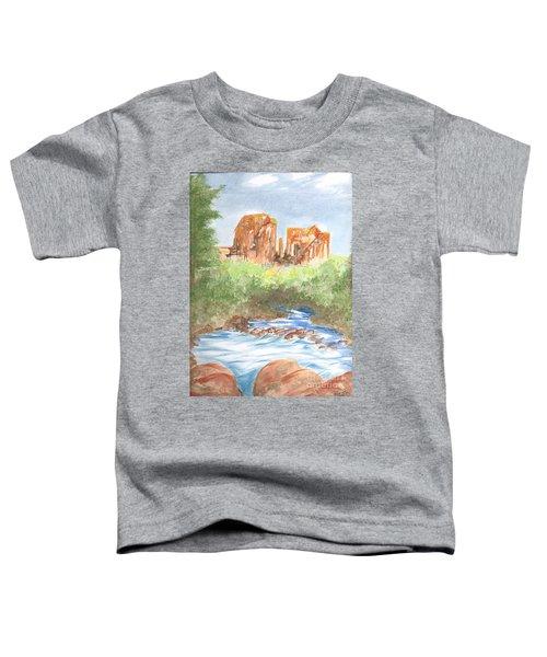 Cathedral Rock 2,  Sedona, Az. Toddler T-Shirt