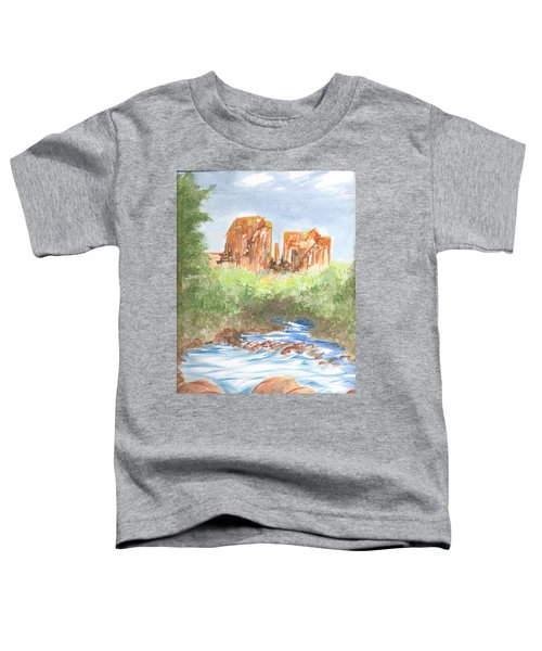 Cathedral Rock 2,  Sedona, Az. Toddler T-Shirt