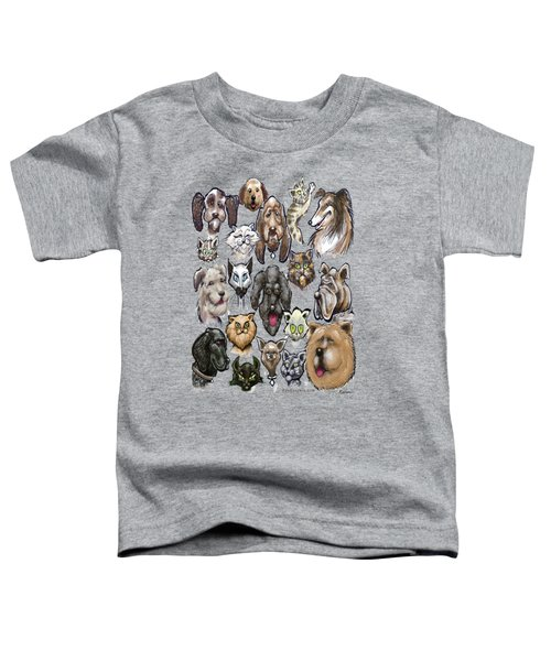 Cats N Dogs Toddler T-Shirt