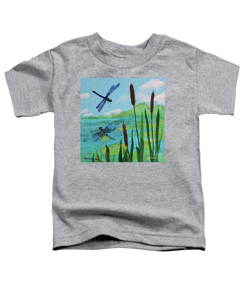 Cattails And Dragonflies Toddler T-Shirt