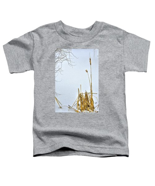 Cattails In Winter Toddler T-Shirt