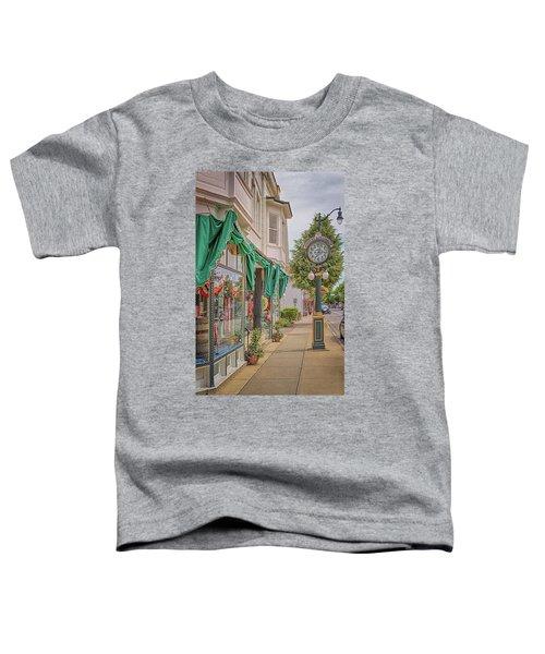 Cedarburg Street Clock Toddler T-Shirt