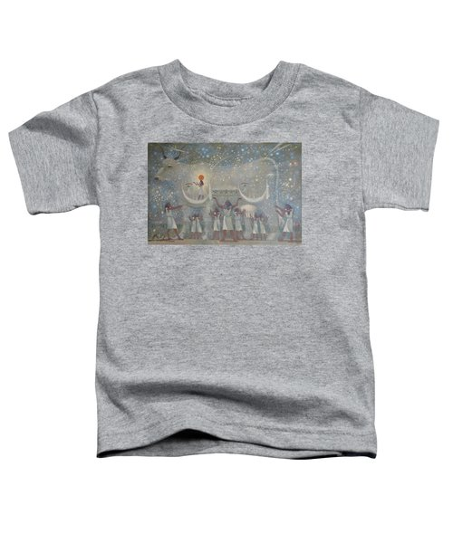 Celestial Cow Toddler T-Shirt